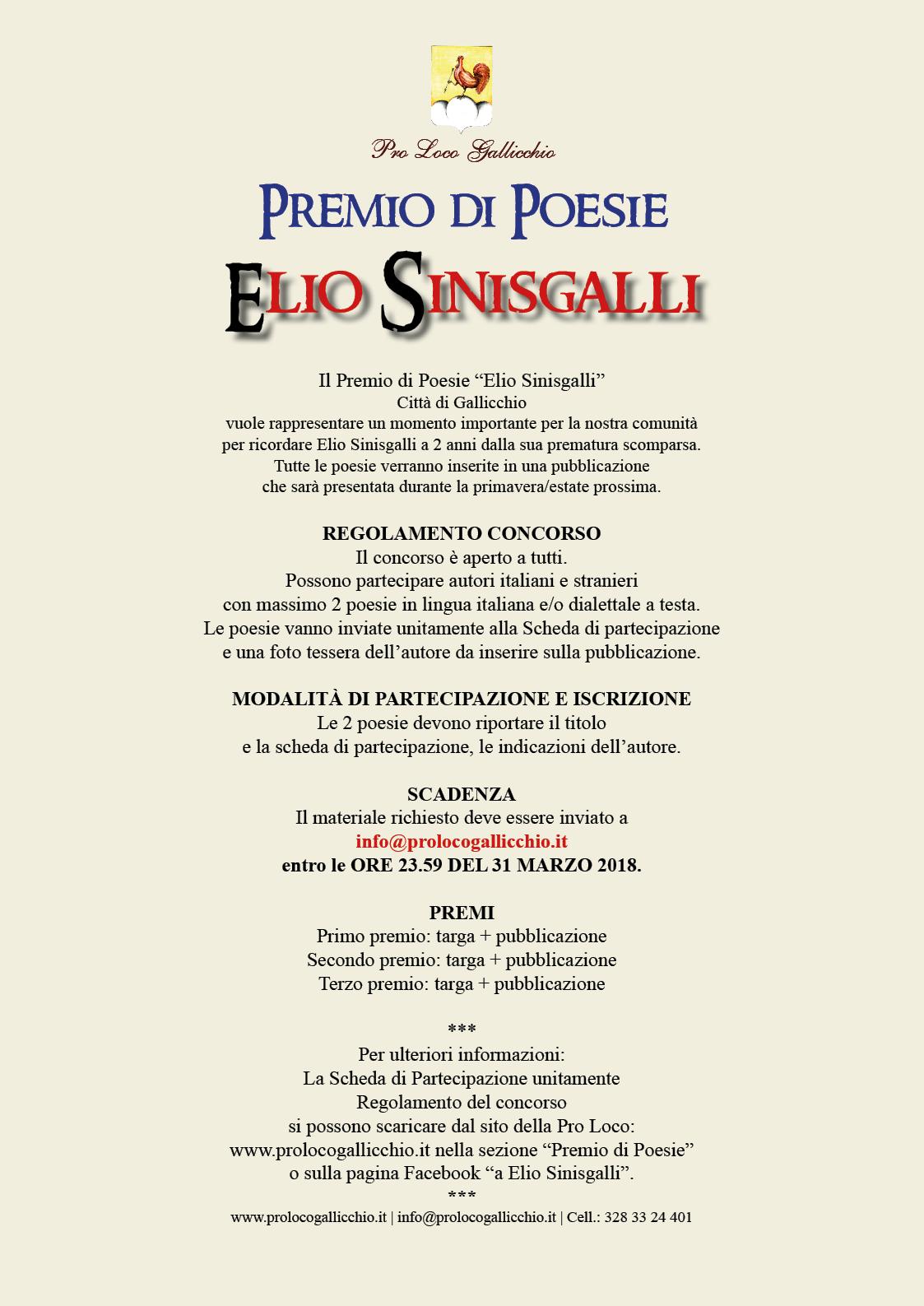 Premio Elio Sinisgalli