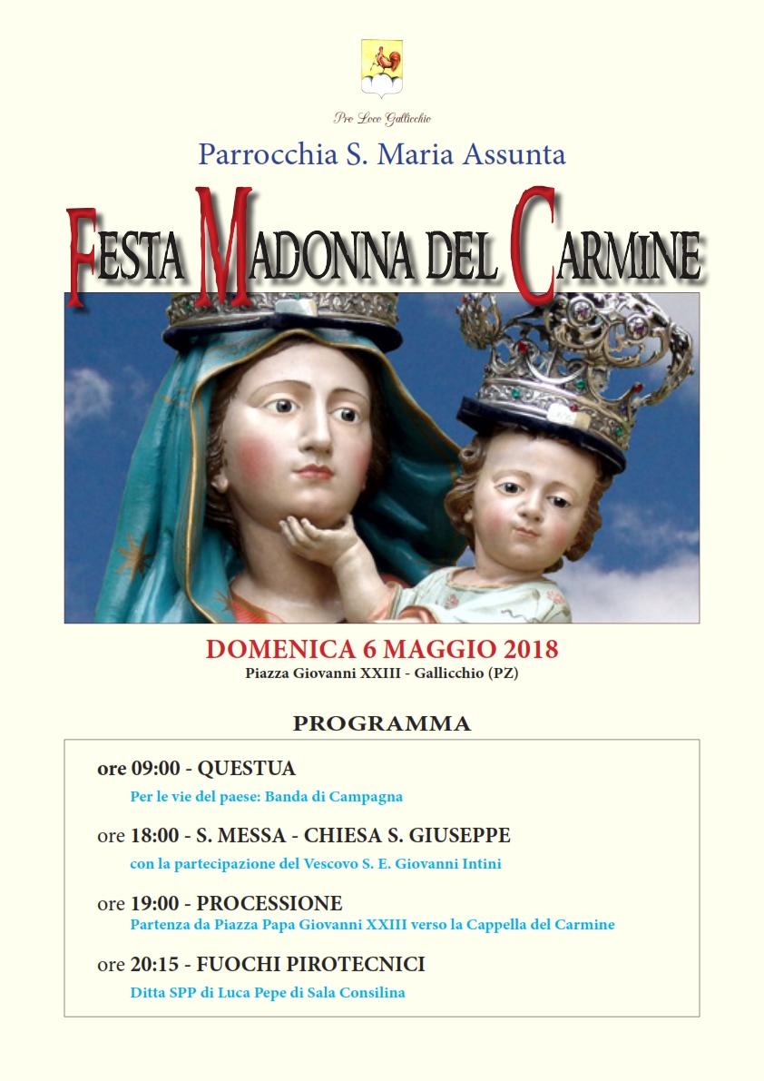 Festa Madonna del Carmine - Maggio 2018