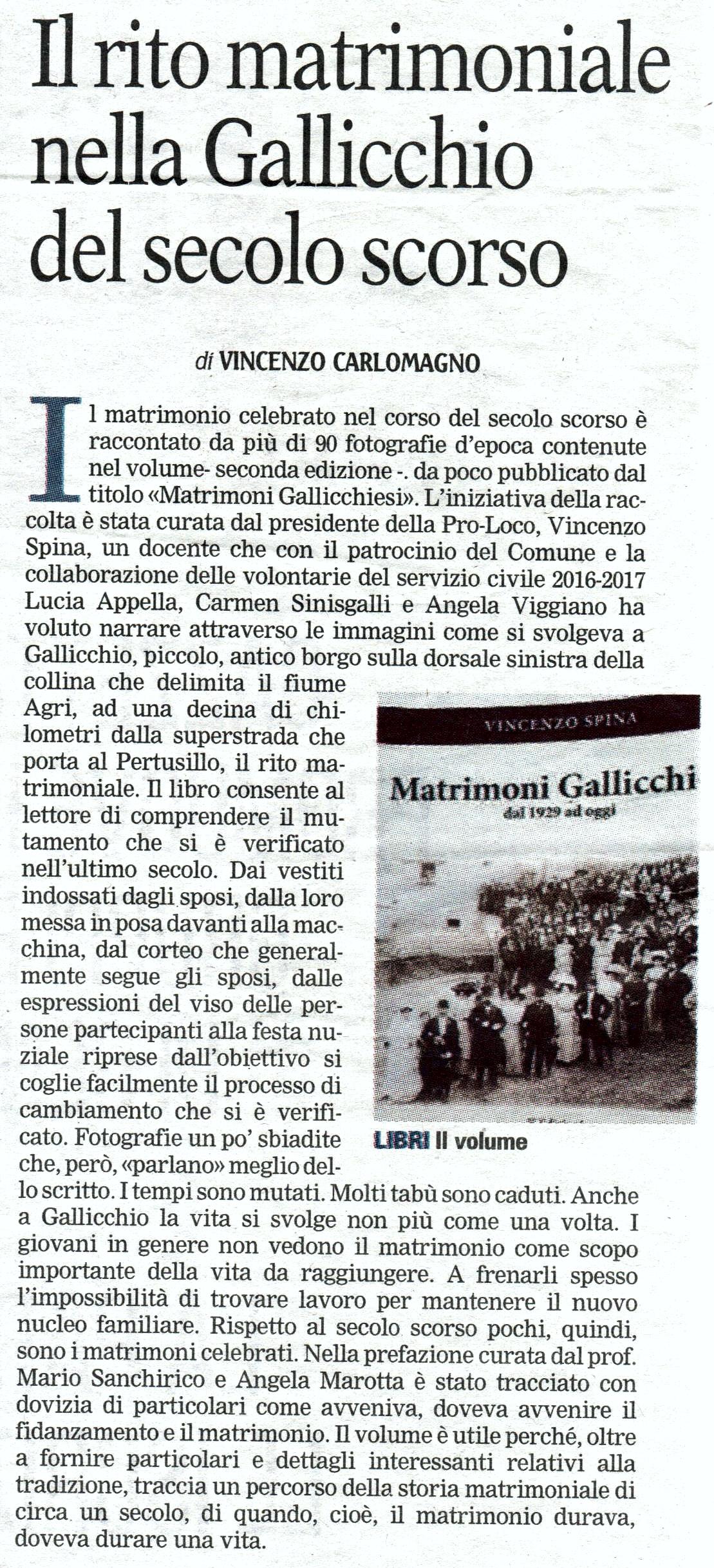 Matrimoni gallicchiesi